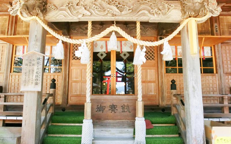日枝神社 神社正面