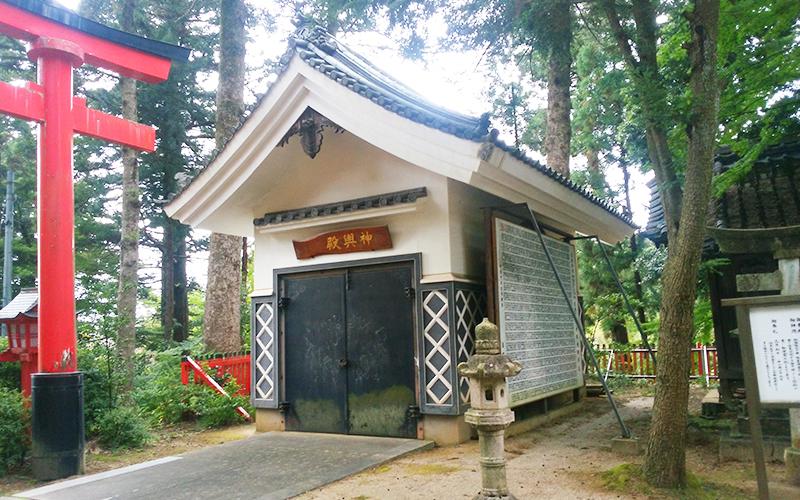 日枝神社 神輿殿