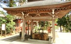 日枝神社 手水