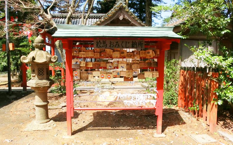 日枝神社 絵馬 おみくじ 納所